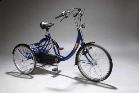 Elektrisk trehjulssykkel for voksne