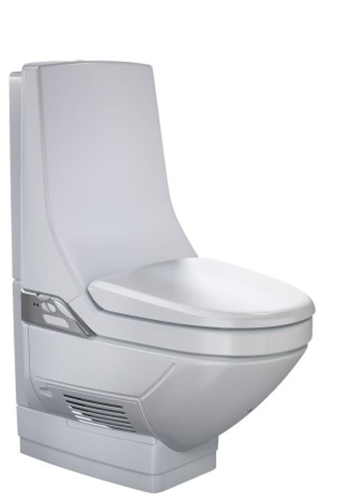 Toalett med dusj