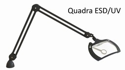 Lupelampe Daylight Quadra